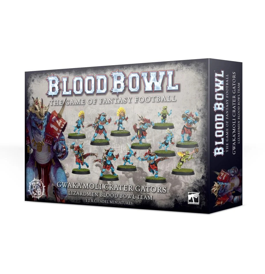 Blood Bowl - Gwaka'moli Crater Gators Team (ENG)