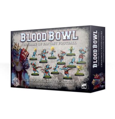 Blood Bowl - Gwaka'moli Crater Gators Team (ENG)