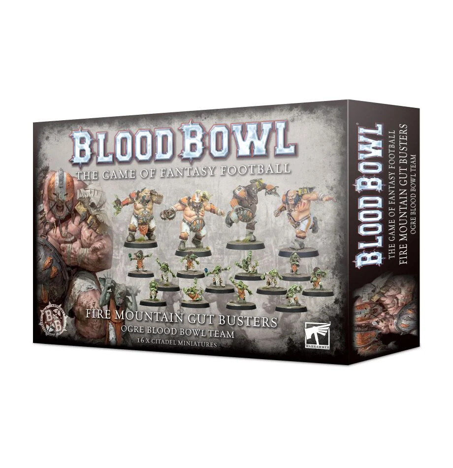 Blood Bowl - Fire Mountain Gut Busters Team (ENG)