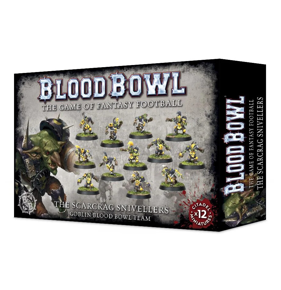 Blood Bowl - Scarcrag Snivellers Team (ENG)