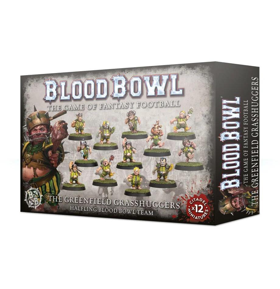 Blood Bowl - Greenfield Grasshuggers Team (ENG)