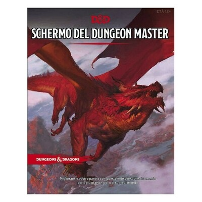 D&D Schermo del Dungeon Master Ed. Italiana - Quinta Ed.