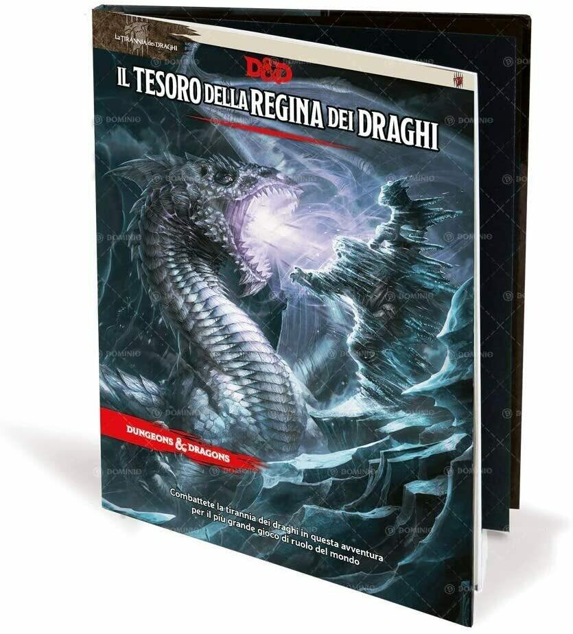 D&D Il Tesoro della Regina dei Draghi Edizione Italiana - Quinta Ed.