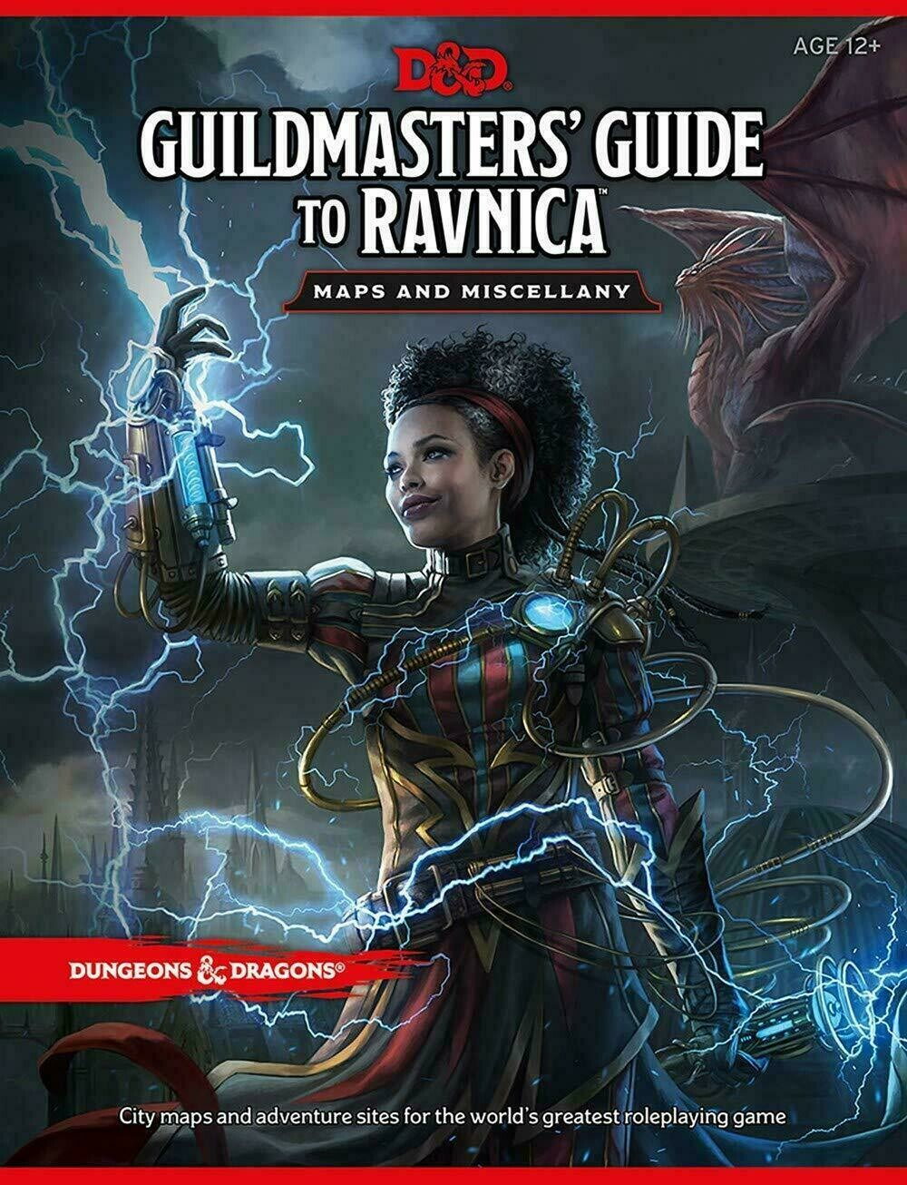 D&D Guildmaster's Guide to Ravnica Maps & Miscellany - Quinta Ed.