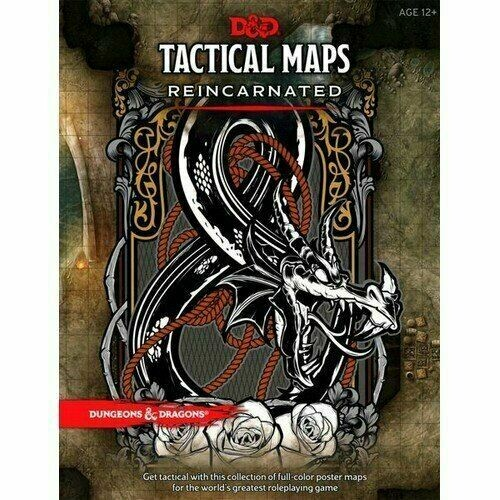 D&D Quinta Ed. - Tactical Maps Reincarnated