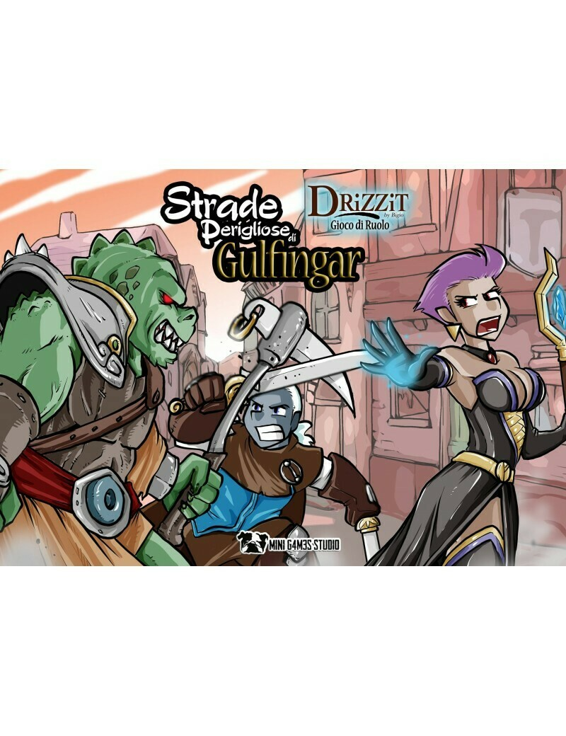 Drizzit - Il Gioco di Ruolo Espansione 2 - Strade Perigliose di Gulfingar