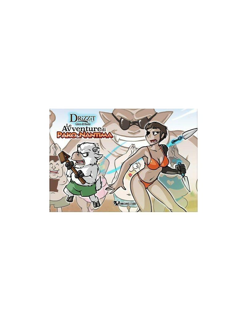 Drizzit - Il Gioco di Ruolo Espansione 6 - Le Avventure di Pako e Nantima