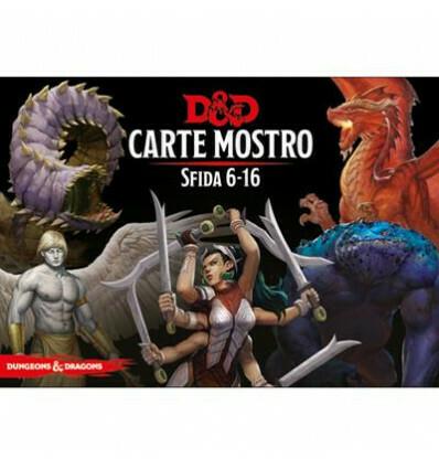 D&D Carte Incantesimo Mostro Sfida 6-16 - Quinta Ed.