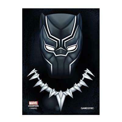 66x91 LCG Art Sleeves - Black Panther