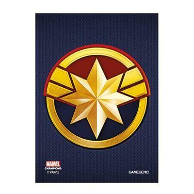 66x91 LCG Art Sleeves - Captain Marvel