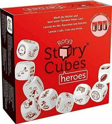 Story Cubes Heroes NON USARE-PRODOTTO DUPLICATO (usare 13578)
