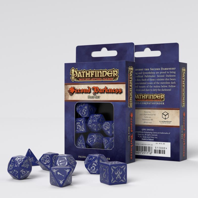 Patfinder Dice Set - Second Darkness