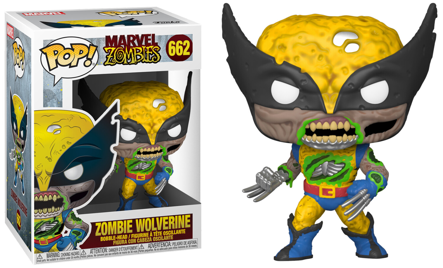 POP Funko - Zombie Wolverine Lucca Special Edition (662)