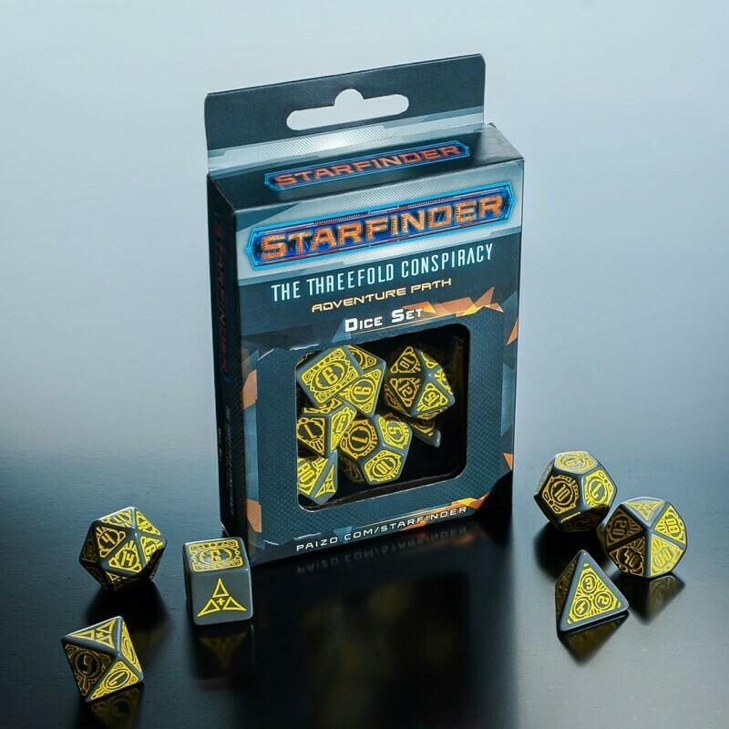 Pathfinder Dice Set - Threefold Conspiracy