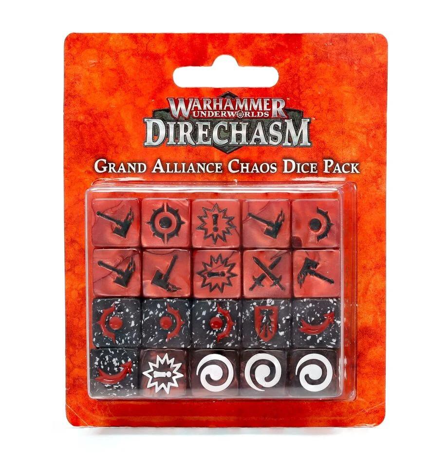 Warhammer Underworlds: Direchasm - Grand Alliance Chaos Dice Pack