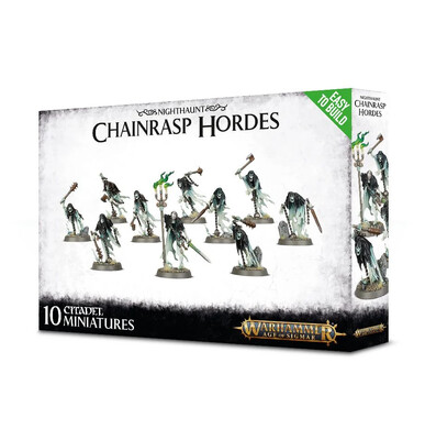 Warhammer Age of Sigmar - Easy to Build: Nighthaunt Chainrasp Hordes