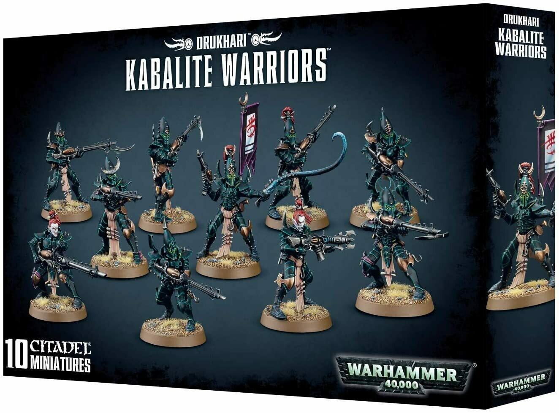 Warhammer 40000: Drukhari Kabalite Warriors