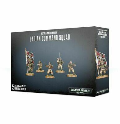 Warhammer 40000: Astra Militarum Cadian Command Squad