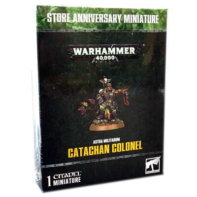Warhammer 40000: Astra Militarum Catachan Colonel Store Anniversary