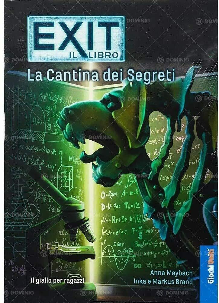 Exit Il Libro- La Cantina dei Segreti
