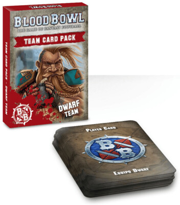 Blood Bowl - Dwarf Team Card Pack(ENG)