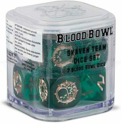 Blood Bowl - Skaven Team Dice Set