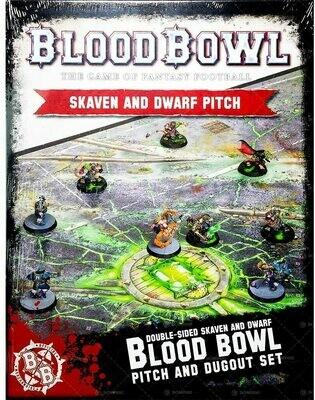 Blood Bowl - Skaven & Dwarf Pitch