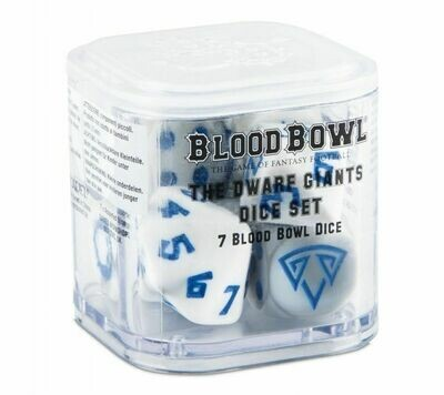 Blood Bowl - Dwarf Team Dice Set