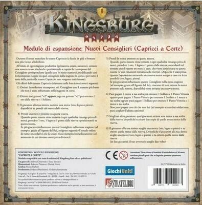 Kingsburg Seconda Ed.- Capricci a Corte exp