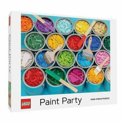 Puzzle LEGO Paint Party 1000p