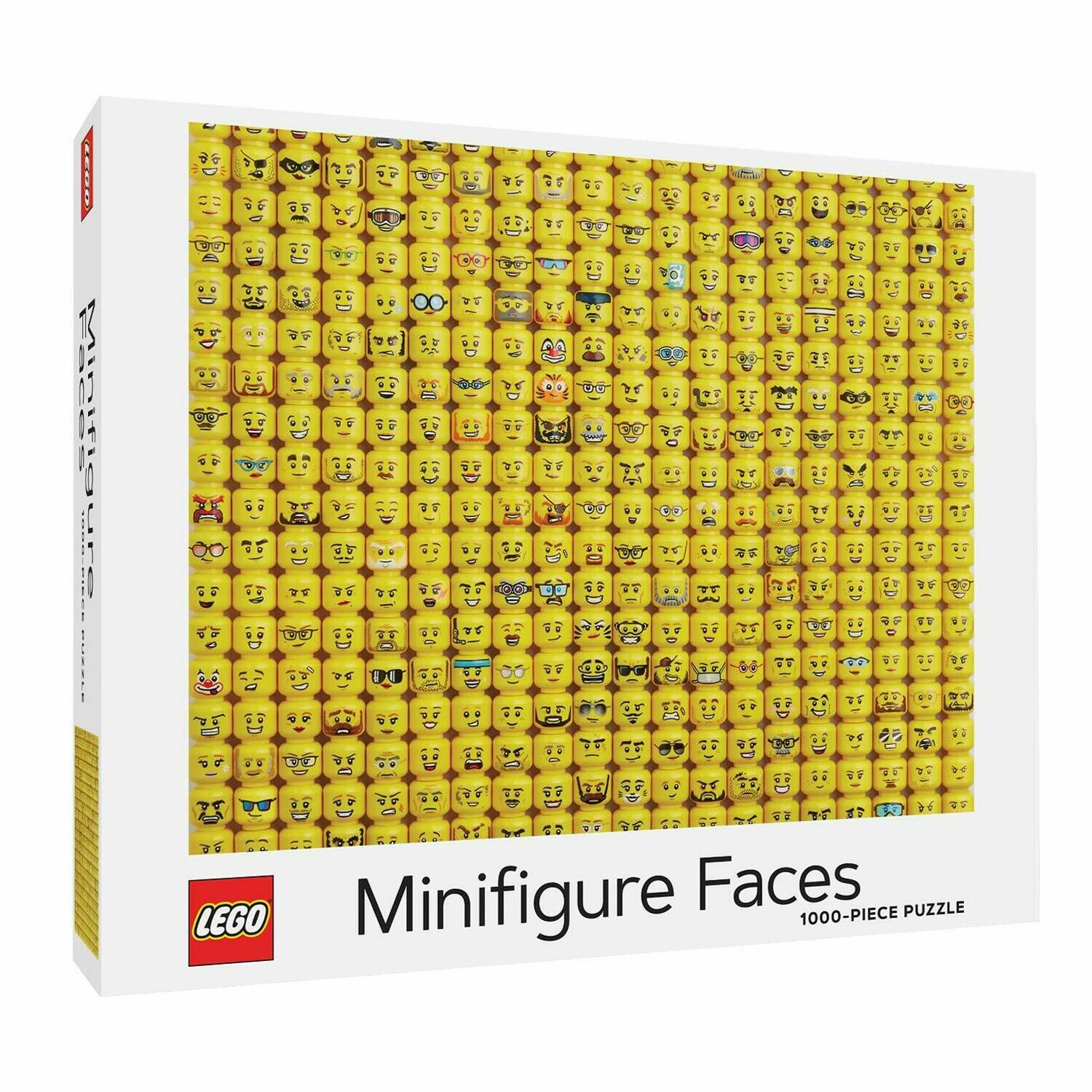 Puzzle LEGO Minifigure Faces 1000p
