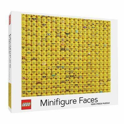 Puzzle LEGO Minifigure Faces 1000p