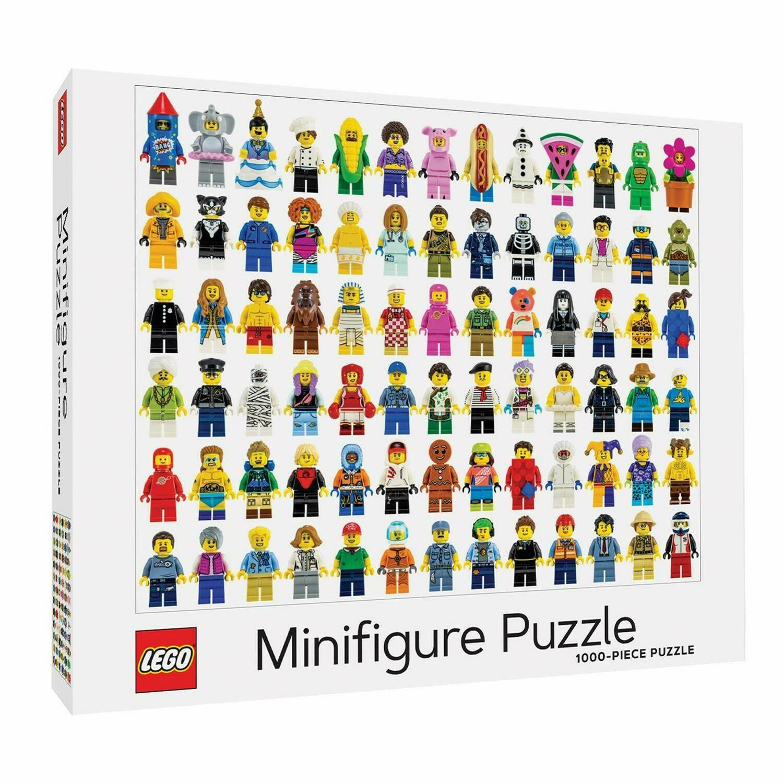Puzzle LEGO Minifigure 1000p