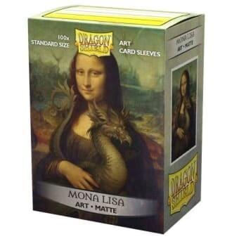 Dragon Shield 100 Sleeves - Art - Mona Lisa