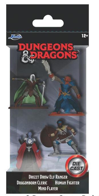 "Dungeon & Dragons 1,65"" Nanofigs 4-pack"