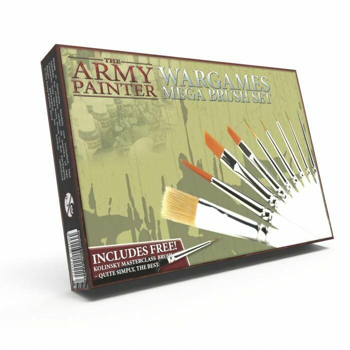 Army Painter Pennelli Mega Set