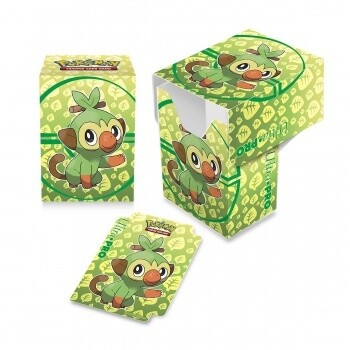 Full View Deck Box - Pokemon Sword and Shield Galar Starters Grookey