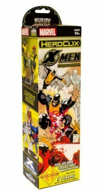 HeroClix: X-men house of X Booster HeroClix