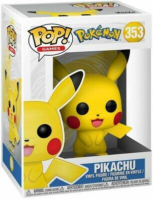 POP Funko Pokemon - Pikachu #353