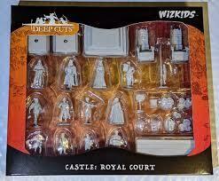 D&D Nolzur's Marvelous Miniatures - : Castle: Royal Court