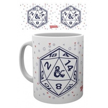 Tazza Dungeon & Dragons D20