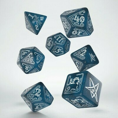 Call of Cthulhu 7a Edizione - Dice Set Abyssal/White