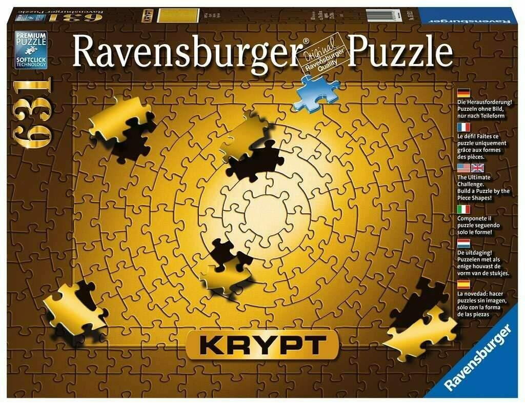 Puzzle Krypt - Gold 631