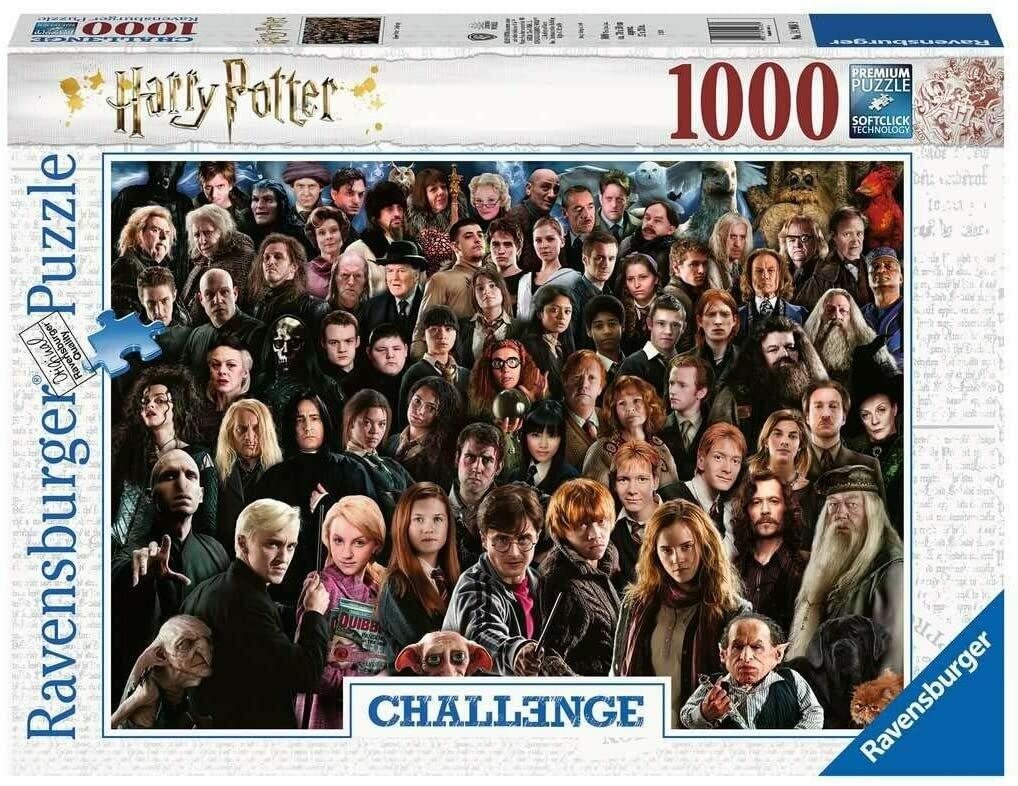 Challenge Puzzle - Harry Potter 1000p