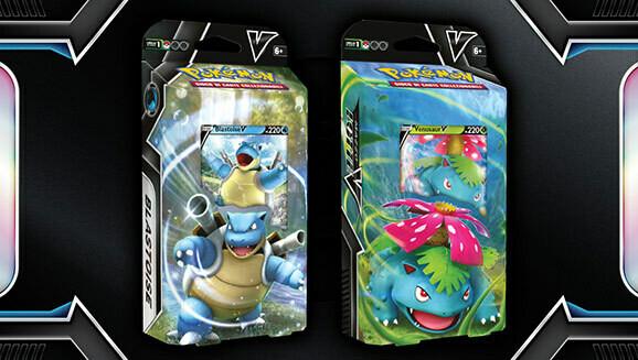 Mazzo Lotte V - Blastoise-V / Venusaur-V - Mazzo tematico - Pokemon