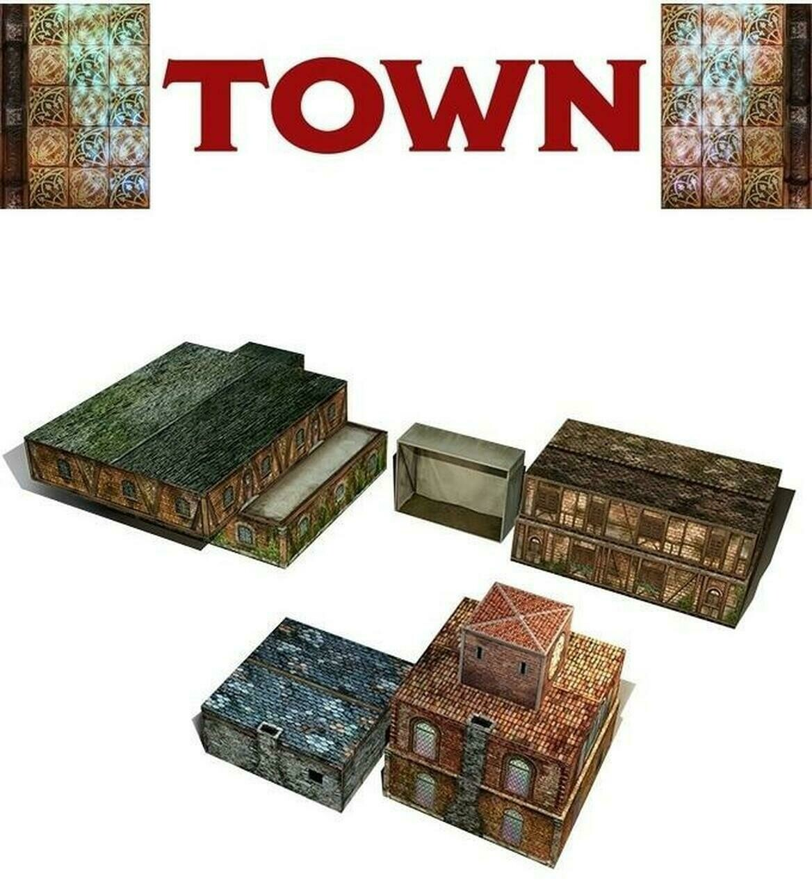 Tenfold Dungeon: The Town