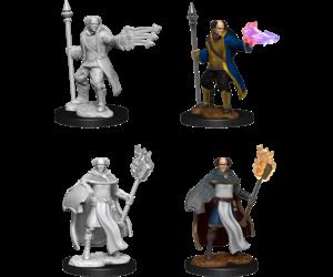 D&D Nolzur's Marvelous Miniatures - Multiclass Cleric + Wizard  (2 Miniature)