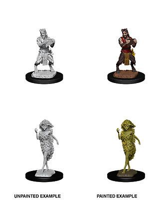 D&D Nolzur's Marvelous Miniatures - Satyr & Dryad (2 Miniature)