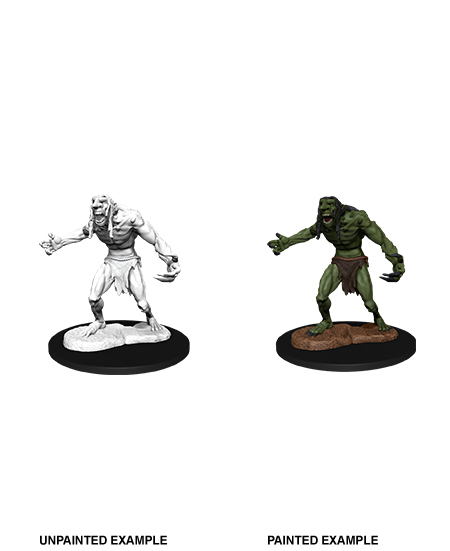 D&D Nolzur's Marvelous Miniatures - Raging Troll