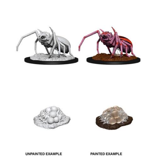D&D Nolzur's Marvelous Miniatures - Giant Spider & Egg Clutch (2 Miniature)